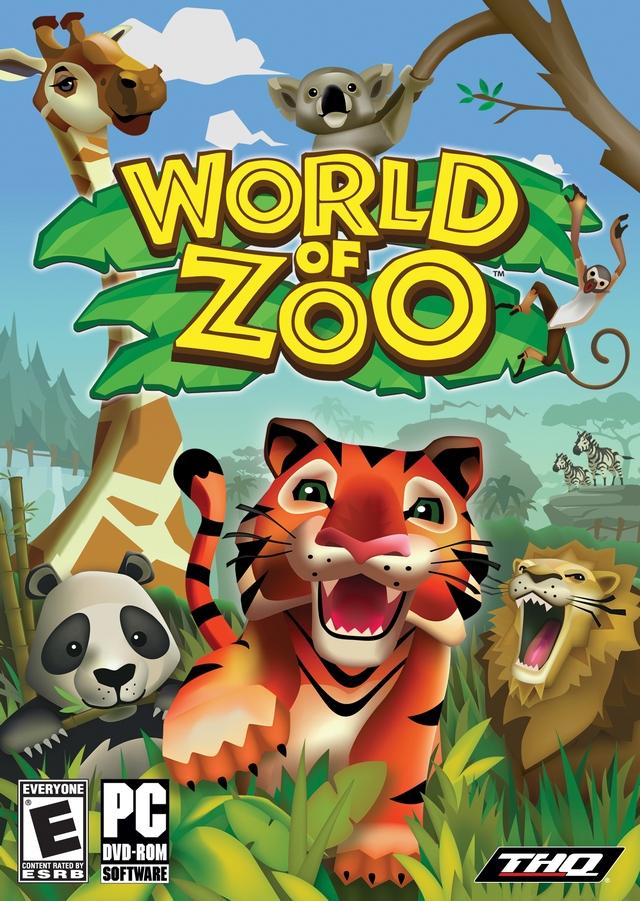 卡通风格 动物园世界 发布