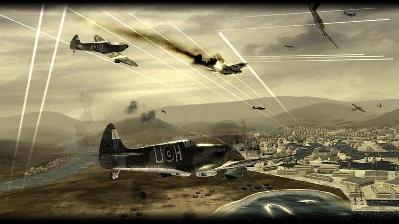 单机游戏大全 射击(fps) 炽天使:二战空骑兵     在《blazing angels