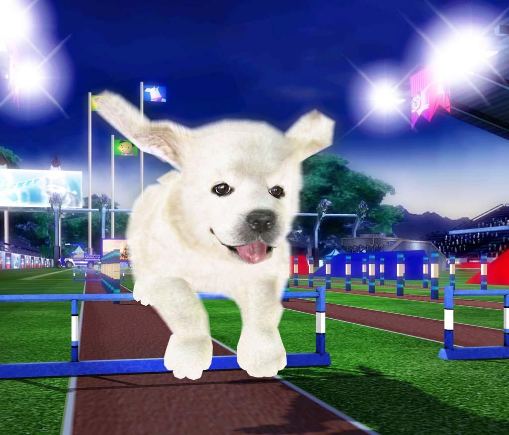 在这款游戏中,你将与自己的小狗狗一起完成众多竞技比赛,并最终获取胜利。你需要仔细挑选并训练你的宠物狗狗,并在之后的各种体育项目中与对手展开竞争。游戏中的宠物狗狗种类丰富,外形也十分可爱。玩家在游戏中可以玩到许许多多的小游戏。