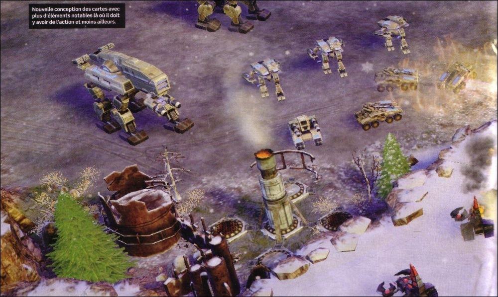 《命令与征服4》首批游戏截图