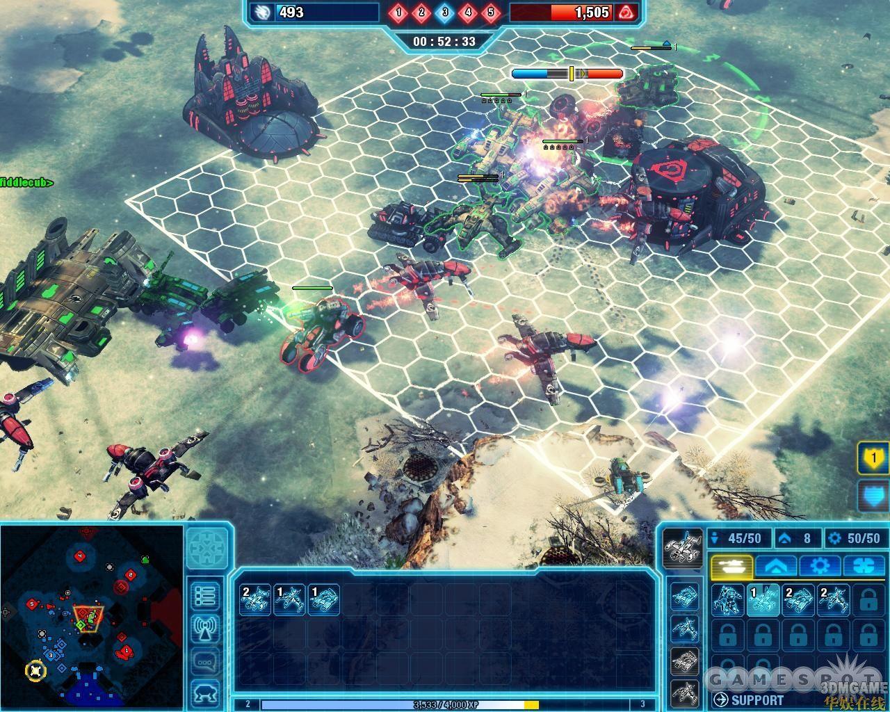 游戏界面似受帝国时代系列的影响.