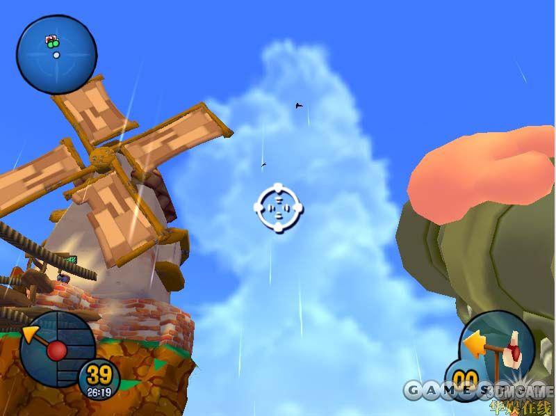 《百战天虫》( Worms )是 Team 17 开发的一个旗舰系列游戏,它是让可爱的卡通虫子使用各种不同的武器互相攻击来娱乐的游戏。游戏中有几十种武器可供选择,包括火箭筒、手榴弹、地雷、棒球棒、微型冲锋枪、超级飞羊等等。在这种荒诞的暴力下, Team 17 聪明的加入了高品质的策略动作元素,可以让新手和老玩家都享受同样的快乐。现在的这款游戏与以前的《百战天虫》有很大的不同,它是迄今为止这个系列游戏最重大的变化,它是一款 3D 的转型游戏。虽然说这种转型游戏往往一不小心就会毁了一个游戏,但是 Team 1