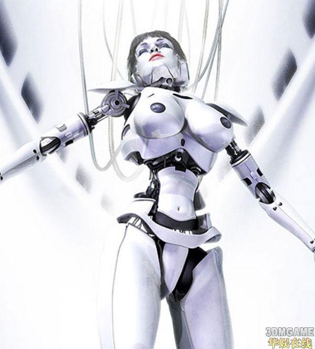 世界上最美女机器人艺术图