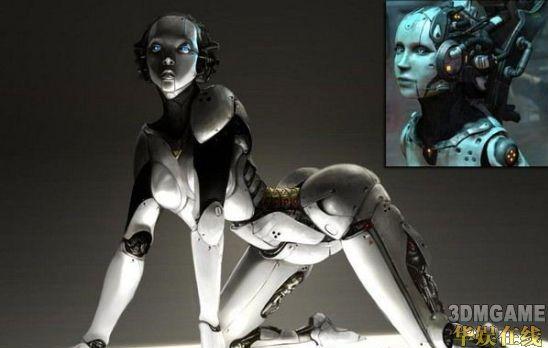 十大游戏中最性感美女机器人