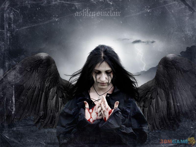 哥特美女哥特式死亡唯美女生暗黑哥特风动漫少女暗黑