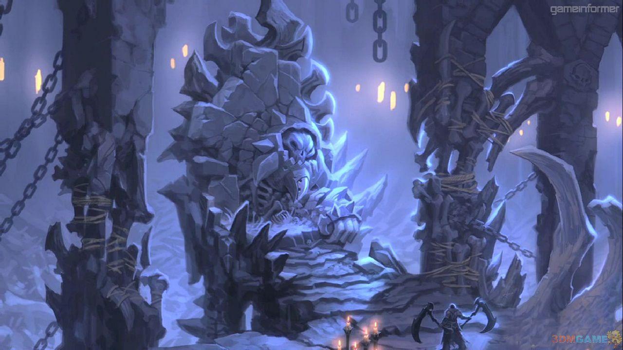 《暗黑血统2》全新艺术图 恐怖黑暗充满死亡气息