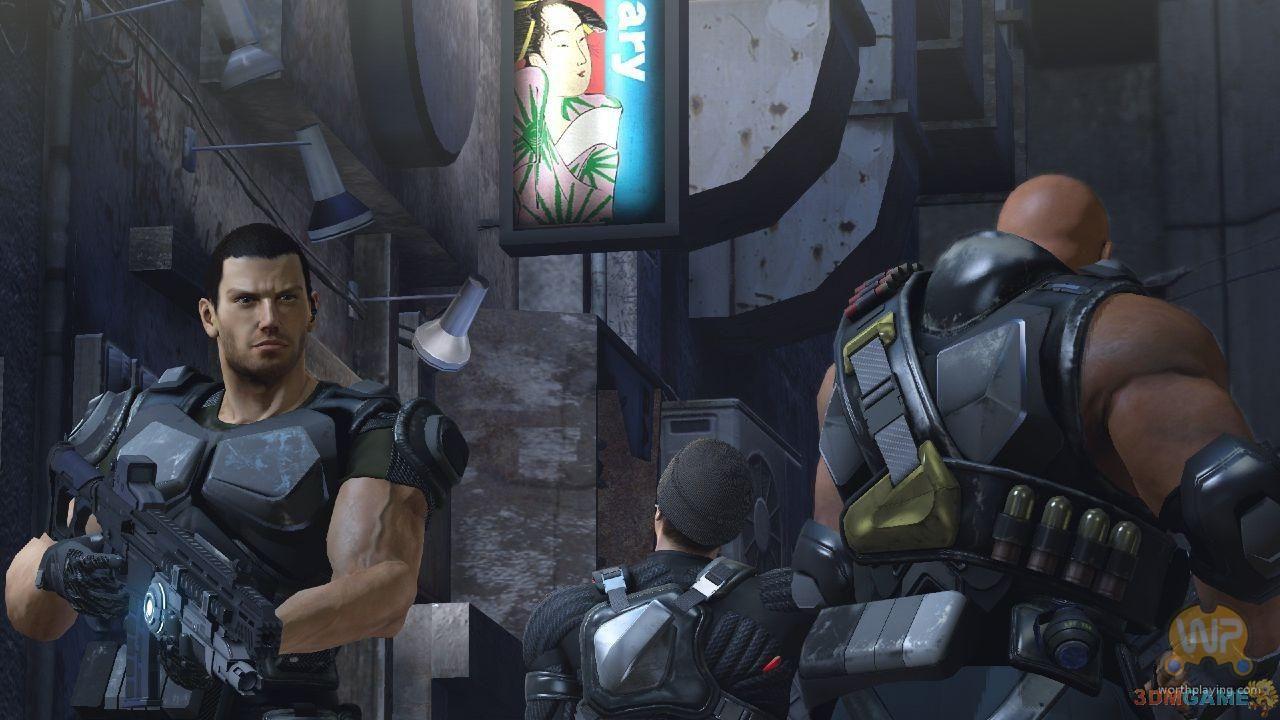 人物形象刻画给力 小队射击游戏《二进制领域》截图欣赏