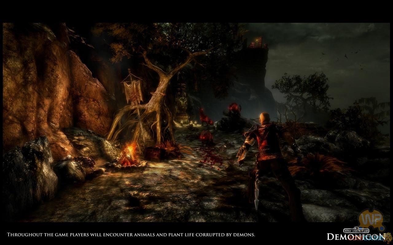 黑暗风格动作rpg《暗曈:恶魔之眼》最新截图欣赏