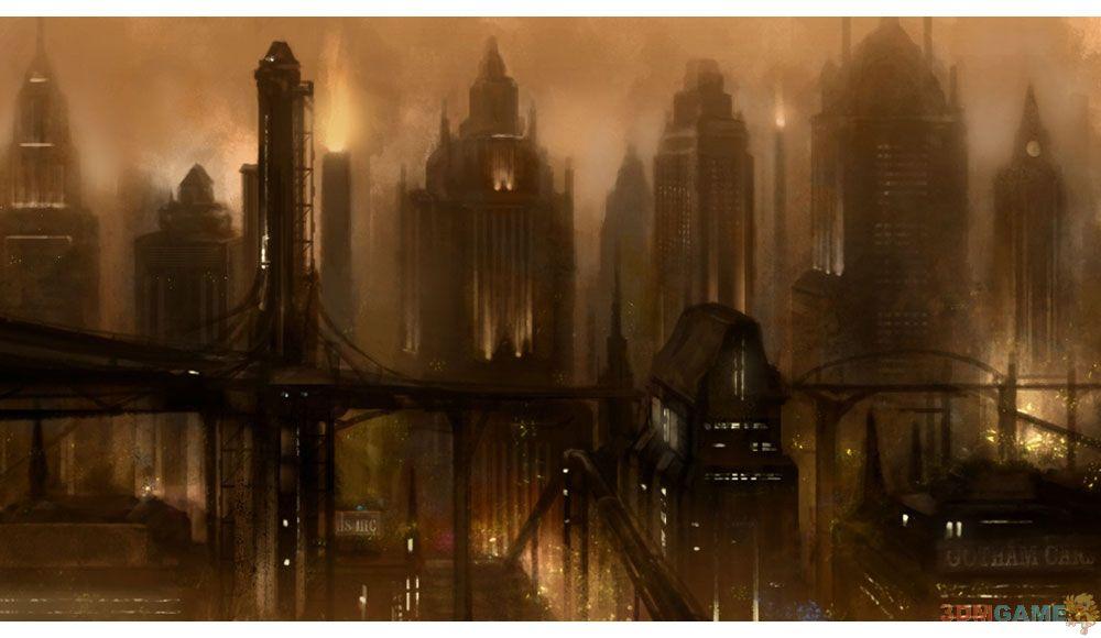 猫女乃真SM 《蝙蝠侠:阿卡姆之城》艺术图公布_第6页_www.3dmgame.com