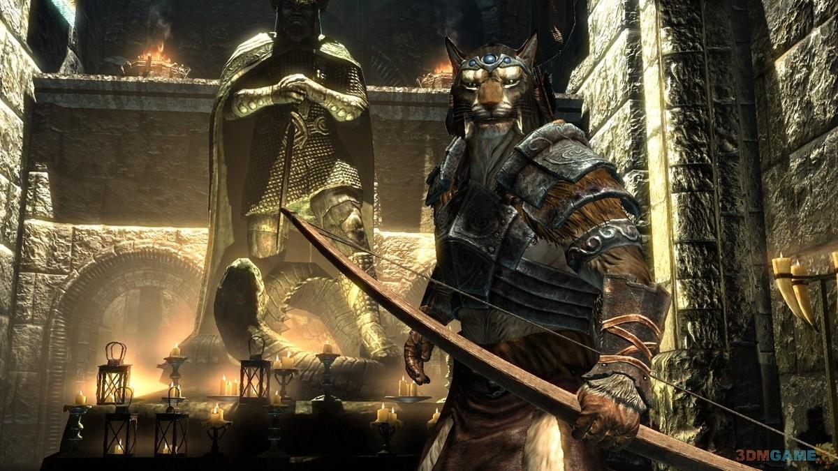 游戏介绍   《上古卷轴5:天际》是bethesda出品的史诗性奇幻风格rpg