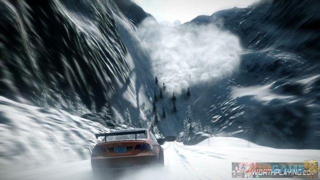 雪山极速狂飙 《极品飞车:亡命天涯》最新截图