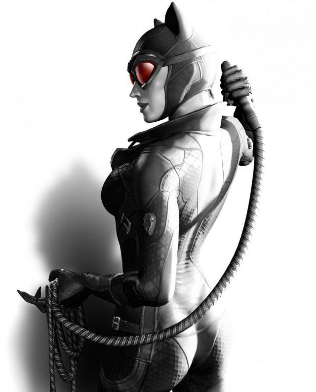 猫女乃真SM 《蝙蝠侠:阿卡姆之城》艺术图公布_www.3dmgame.com