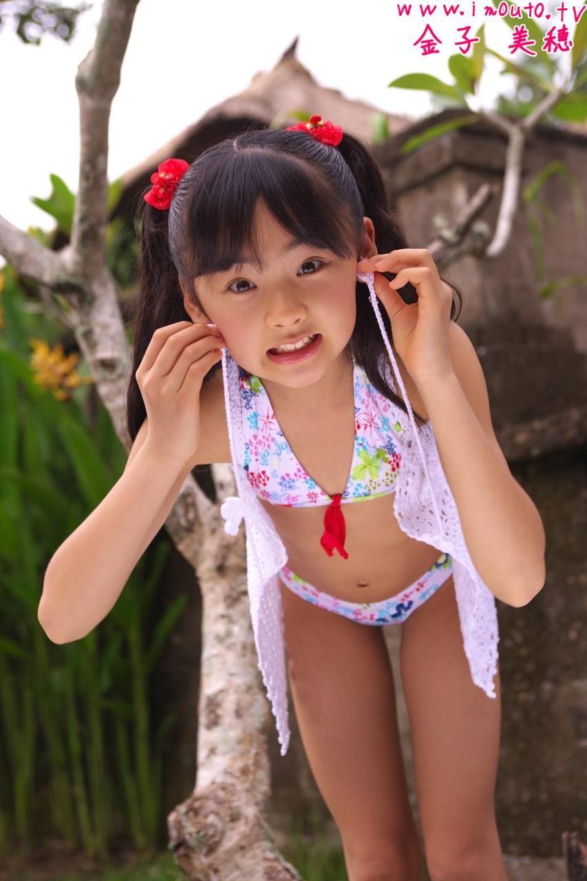 金子美穗17岁照片