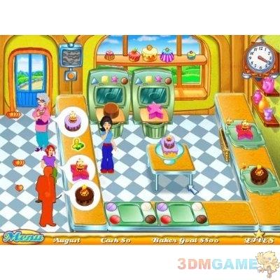 手忙脚乱的蛋糕房模拟经营类游戏