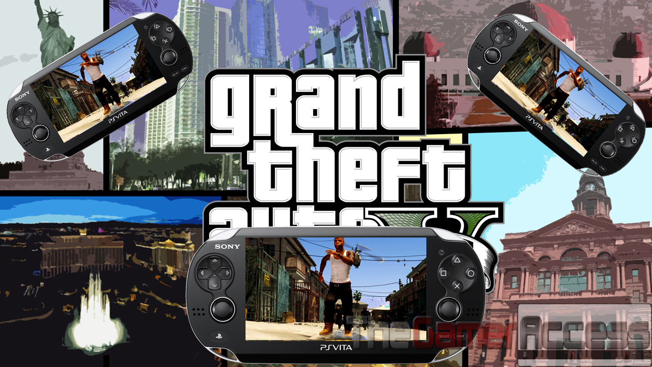 Playstation Vita Gta 5 : 《gta 》ps vita整合将是ps的黄金机会 dmgame