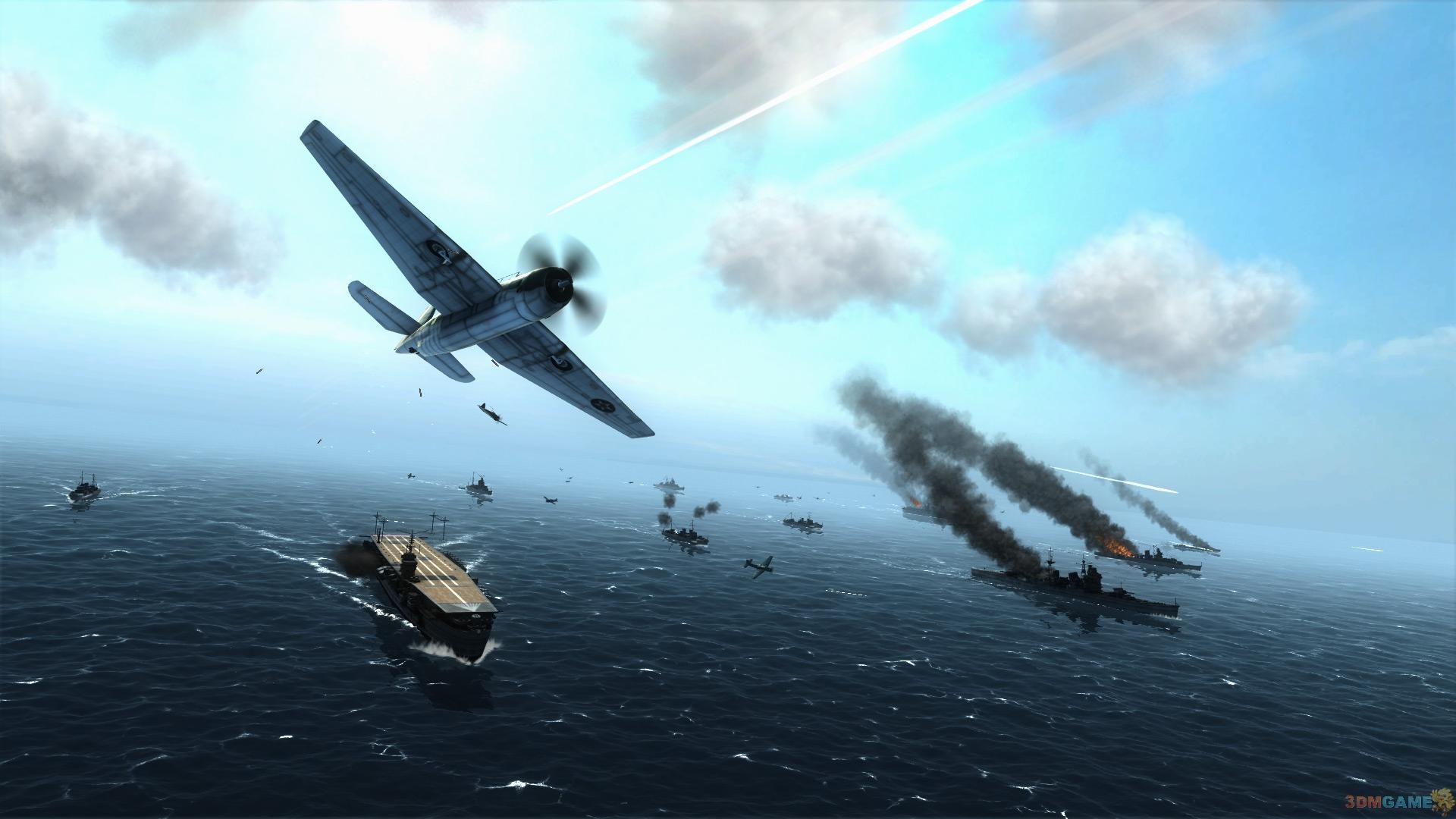 重回二战风云 《空中冲突:太平洋航母》最新截图