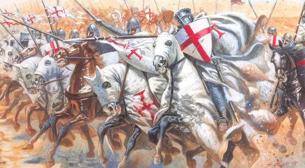 自BC333年的伊萨斯之战和BC332年的高伽米拉会战以来,马其顿方阵的威名传遍了古代地中海世界,马其顿的敌人提起方阵之名就会两股颤栗,因为亚历山大大帝使得方阵变成了一种传奇:他是不可战胜的。马其顿方阵,是一种早期步兵作战时的战术。在荷马时代以前,步兵打起仗来象一窝蜂似地杂乱无章,所以,具有严格阵法的马其顿方阵能轻易地打败数量上占优势但较混乱的敌人,这在当时可以说是战术上的创新。 方阵中的重装步兵左手持直径约1米的圆盾、右手持长约2米的长枪、肩并肩地排成密集而整齐的队形,如同巨大的刺猬一般向前挺进。一般