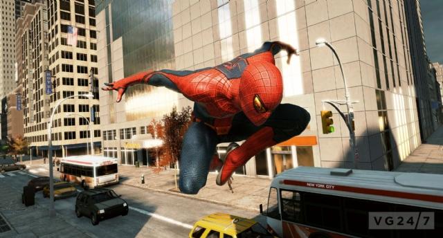 蜘蛛虐待片_E3 2012:《神奇蜘蛛侠》新图 蜘蛛侠狂虐大怪兽_第2页_www.3dmgame.com