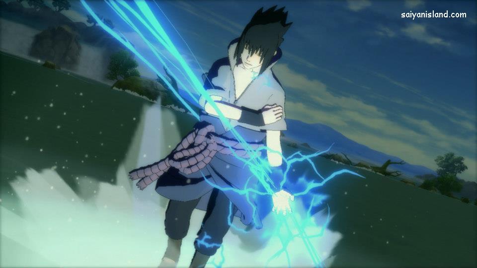 Sasuke Shippuden Chidori Gif