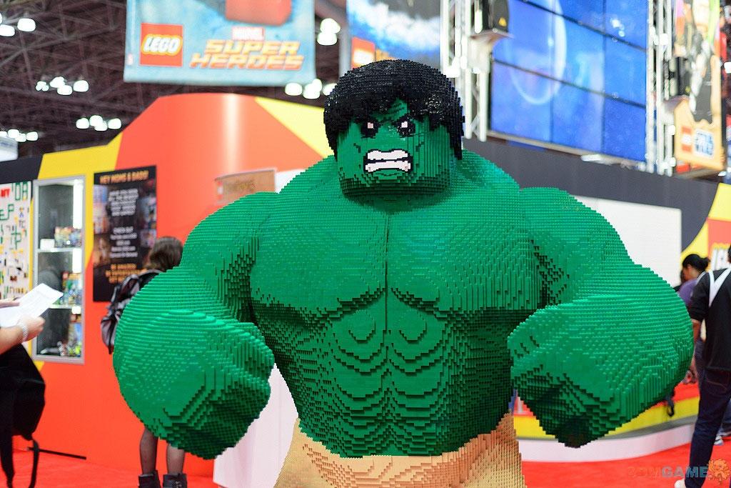 乐高版绿巨人生气了