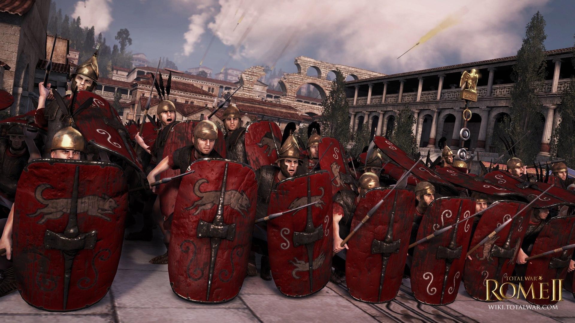 罗马的军队之所以强大是因为他们有组织,有纪律,有战术.