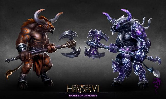 《英雄无敌6》怪物鉴 魔法门中的牛头怪和半身人