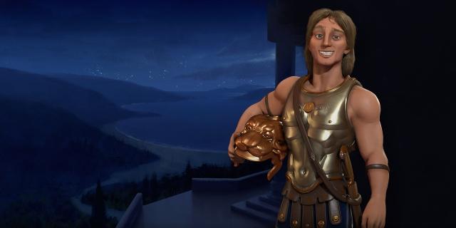 《文明6》马其顿文明公布 亚历山大大帝御驾亲征