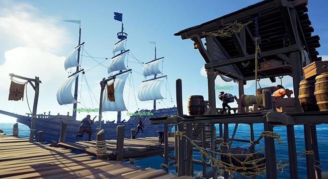 《贼海》PC版本全新演示 21:9显示器玩游戏超震撼
