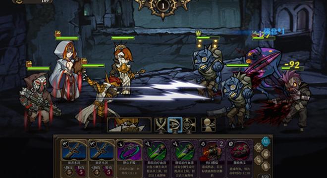 《雨血》团队策略回合制新作《疯狂之冠》游戏演示
