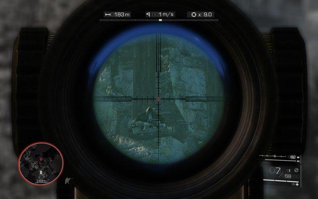狙击手幽灵战士2 最高难度狙击技巧