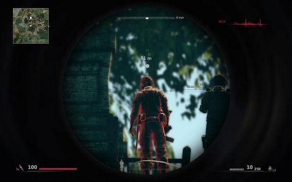 狙击手幽灵战士2 狙击枪红圈问题解决办法