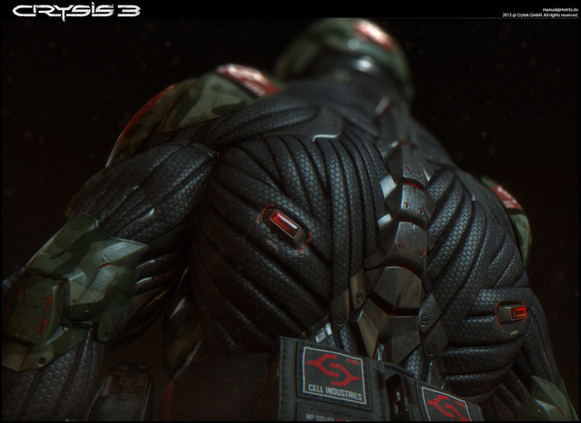 Crytek艺术家作品欣赏纳米服也能这样穿
