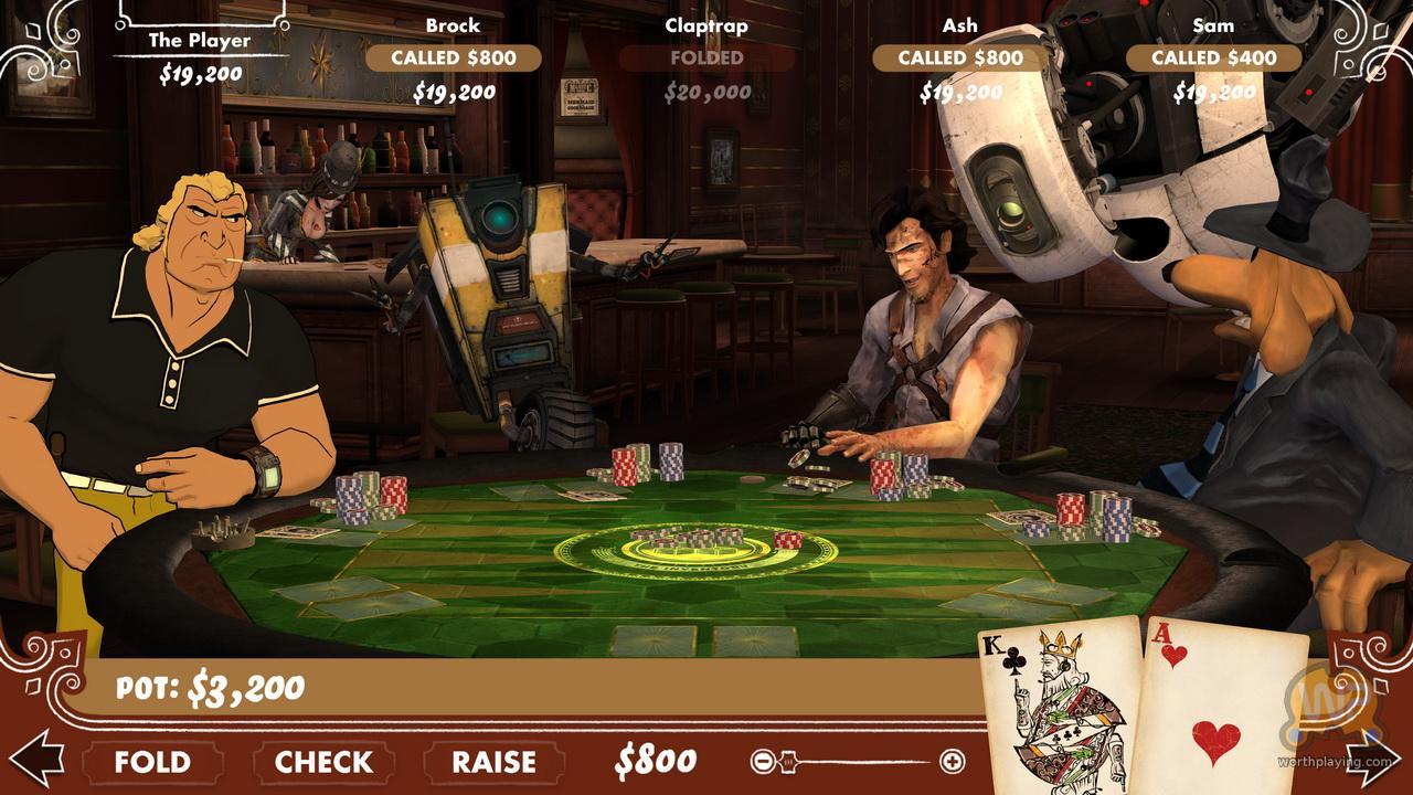 怪诞扑克夜2(poker night 2) - 游戏图片 - 图片下载
