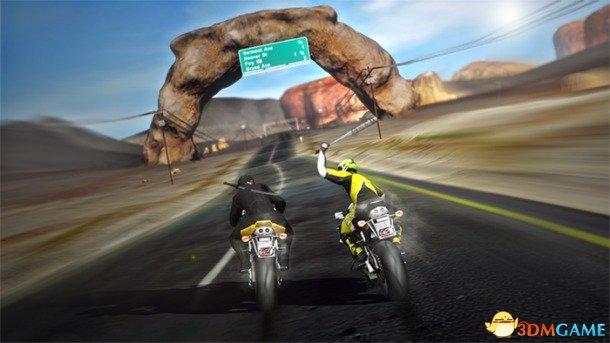 机车大战游戏《公路救赎》视频展示虚拟头罩支