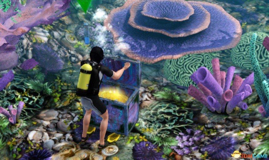 海底无头小人抠图素材