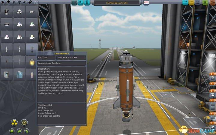 坎巴拉太空计划制导导弹模块系统远程摄像头mod