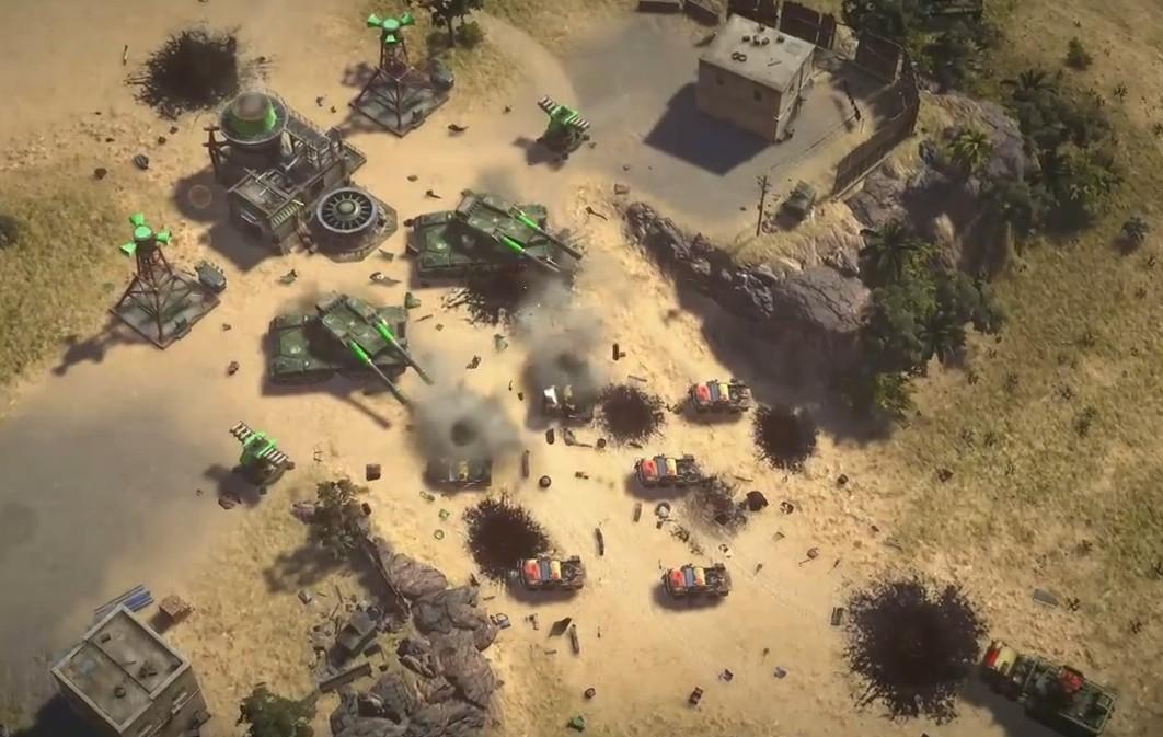 《命令与征服:将军2》视频 中国炎黄坦克威武