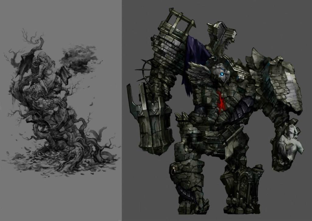 konami发布《恶魔城:暗影之王2》最新艺术设定图