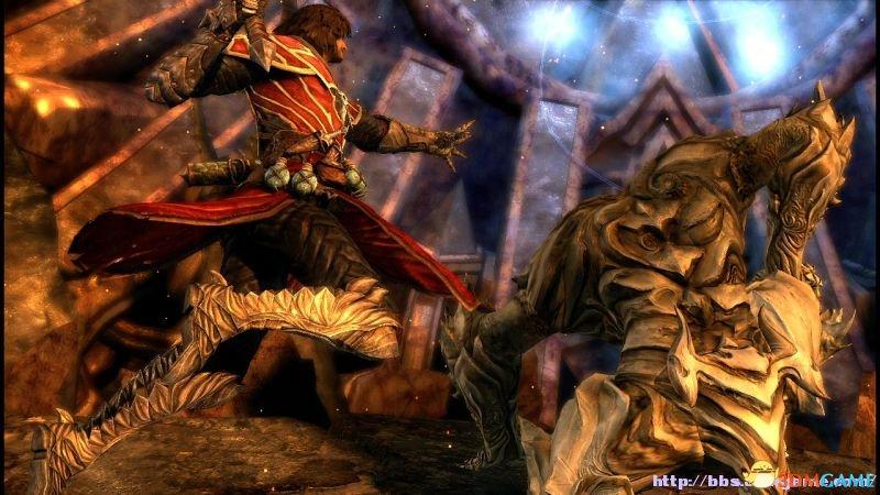 恶魔城:暗影之王 终极版 泰坦boss扔石头的键盘打法