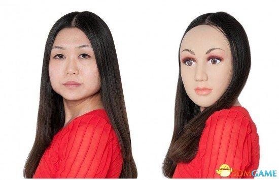 面具让你一秒钟变美女