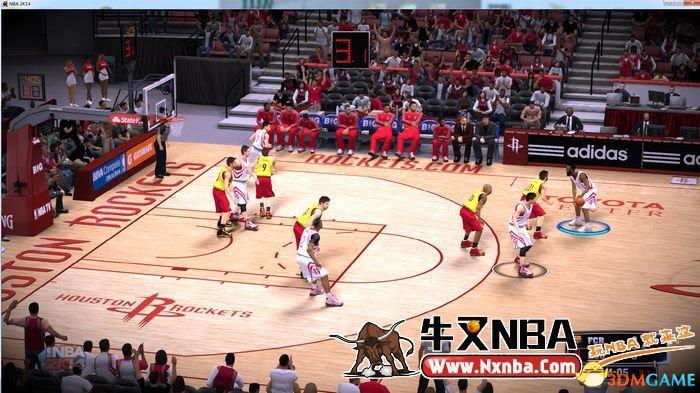 NBA2K14电影暗角效果画面补丁_www.3dmga