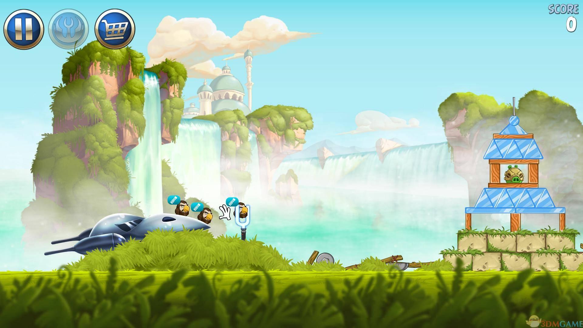 游戏介绍 愤怒的小鸟是一个在全球都相当火爆的休闲游戏系列,去年开发商Rovio推出了一款《愤怒的小鸟星球大战》,游戏将电影星期大战的各种元素融入到游戏中。《愤怒的小鸟:星球大战2》在剧情上将延续一代的特点,追随前传,游戏带来超过30个游戏角色,还可以加入死对头的阵营,以猪猪的角色来玩游戏。还可以扮演达斯摩尔、格里弗斯将军和其他恶棍,让我们先试玩一下吧。 配置要求 Windows XP/Vista/7/8 DirectX 9c 1 GHz 1 GB RAM 安装信息 1.