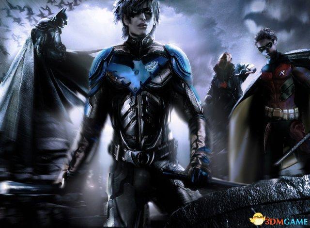 蝙蝠侠与夜翼罗宾