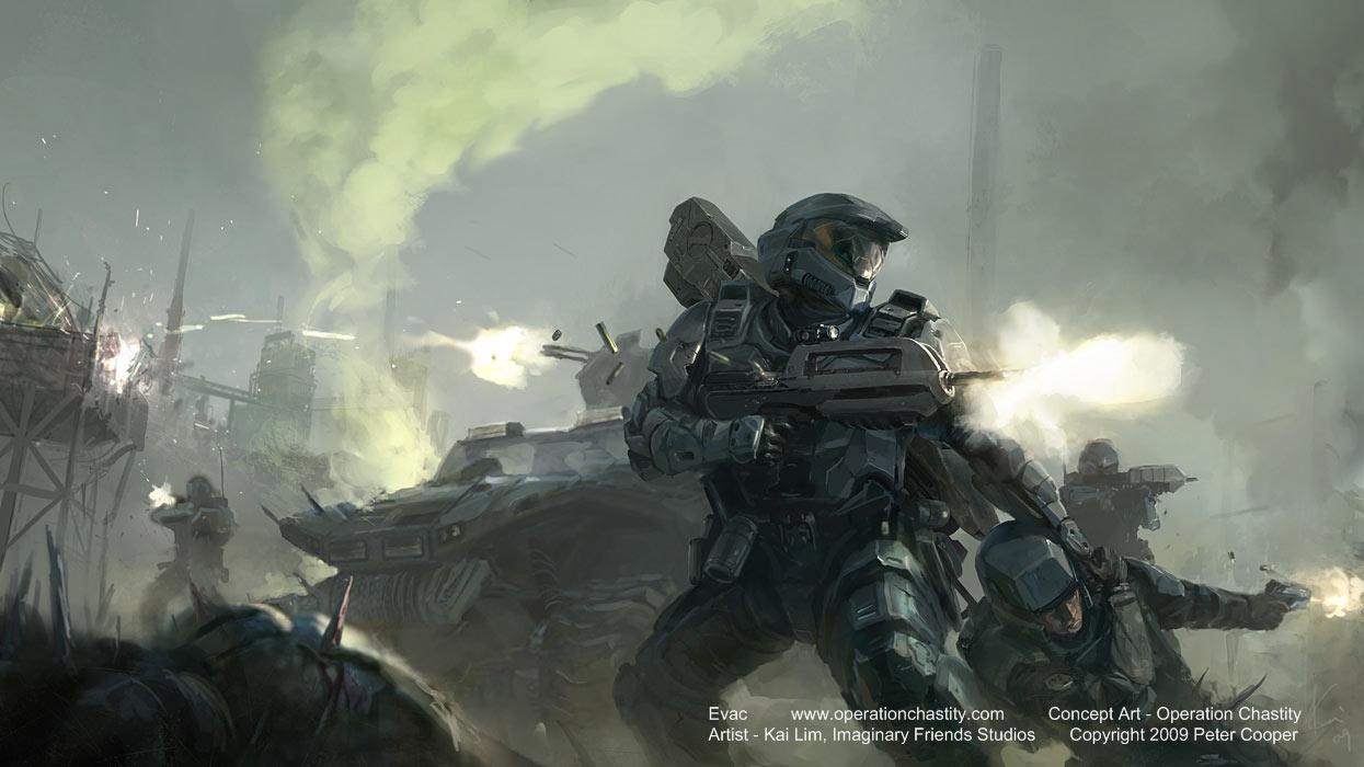微软官方确认暂时没有制作《光晕》系列电影的打算