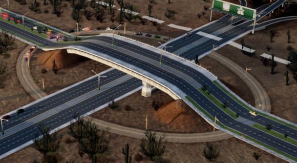 模拟城市5:未来之城立体高架桥规划方法图解