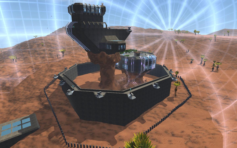 龙之谷沙漠龙攻略_星球探险家建筑MOD碉堡的超级沙漠要塞MOD_www.3dmgame.com