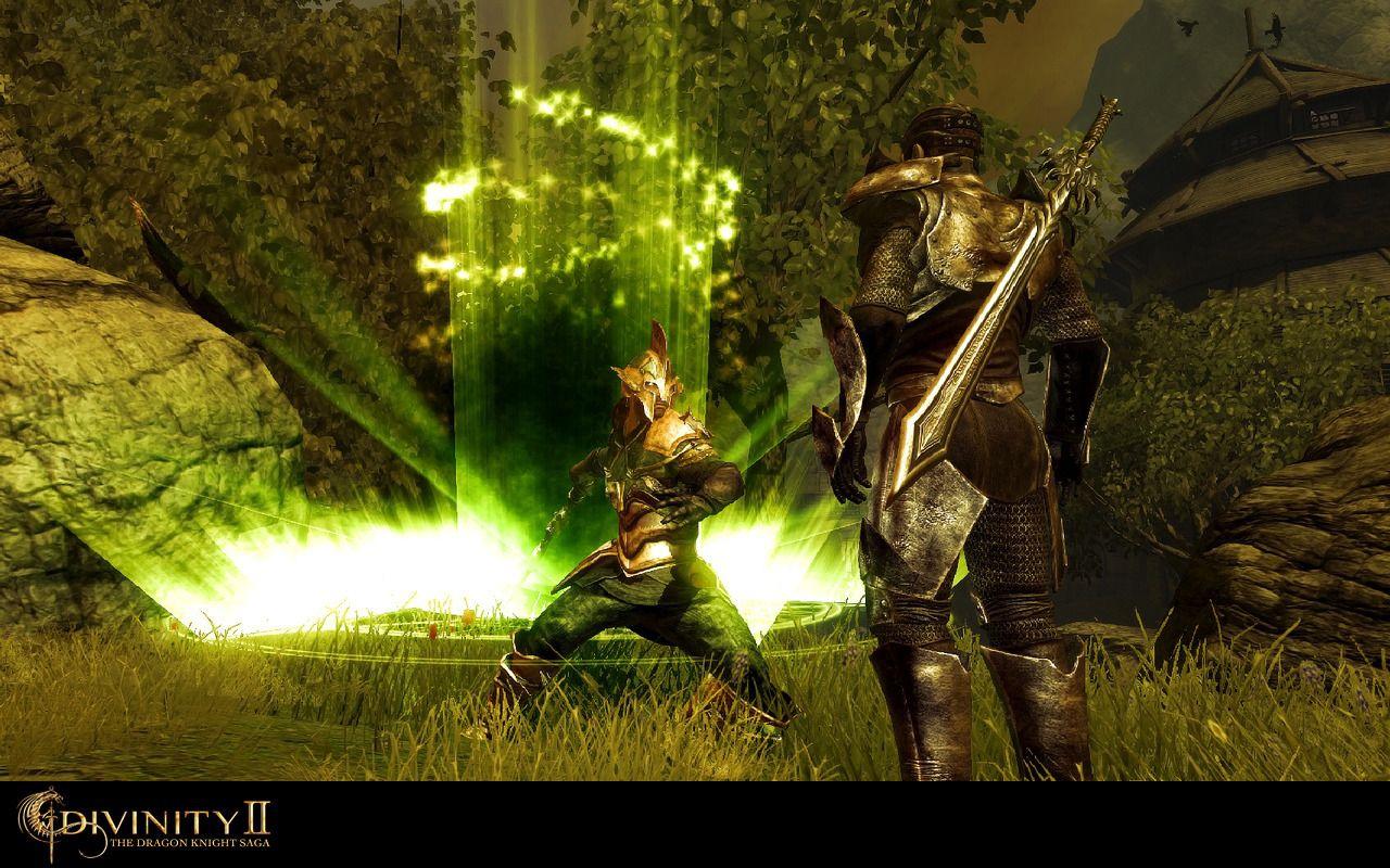 神界2:龙骑士传奇 游戏截图