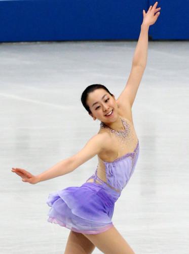 日本美肌排名(女星)第三名:浅田真央