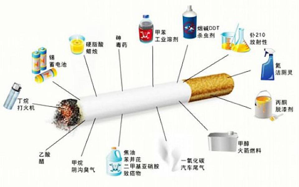 吸烟有害健康 吸烟人的肺对比图片让人触目惊心!