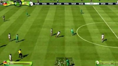 《FIFA 14》IGN模拟巴西世界杯16强比赛视频-第4集